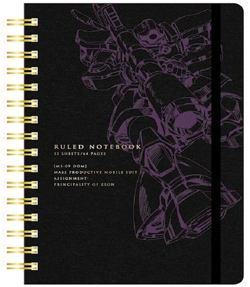 Sun Star - Gundam - Ring Note A6 Stationary MS-09