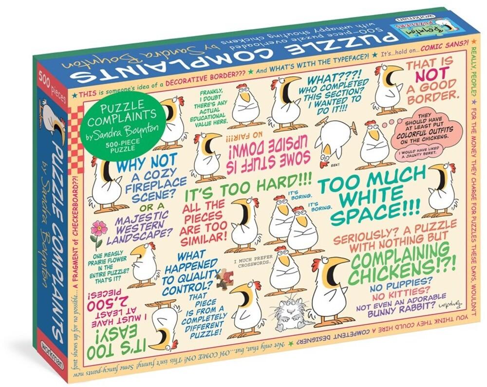 Boynton, Sandra - Sandra Boynton: Puzzle Complaints 500-Piece Puzzle