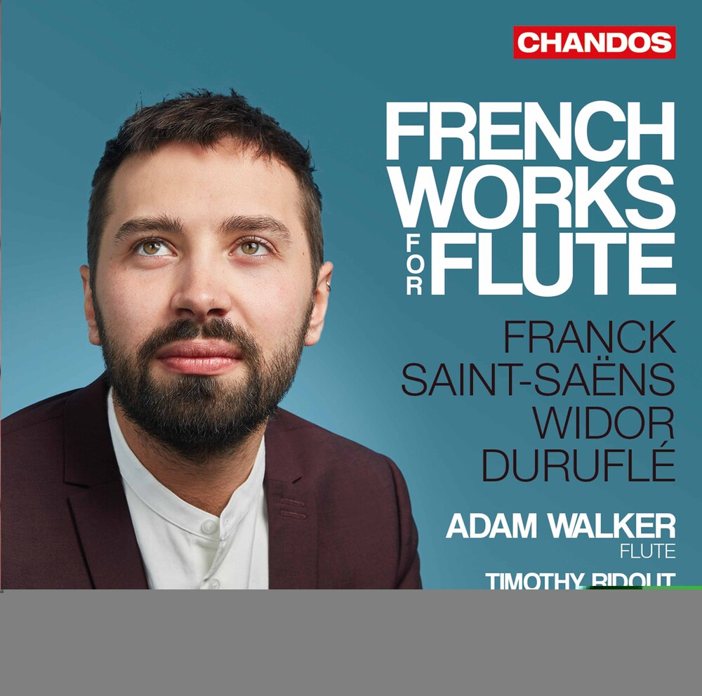Adam Walker - French Works for Flute
