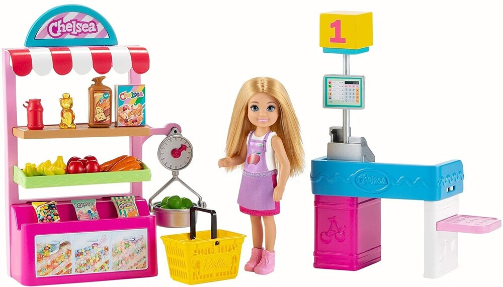 - Mattel - Barbie Chelsea Can Be Snack Stand Playset