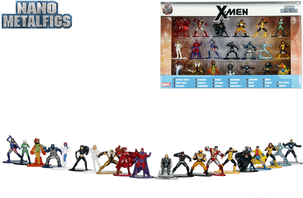 - Nano Metalfigs Marvel X-Men 20 Pk (Clcb) (Fig)
