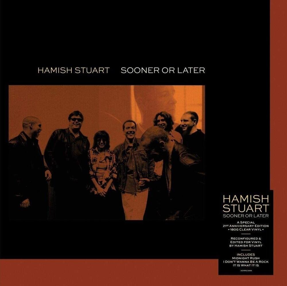 Hamish Stuart - Sooner Or Later [Clear Vinyl] [180 Gram] (Uk)