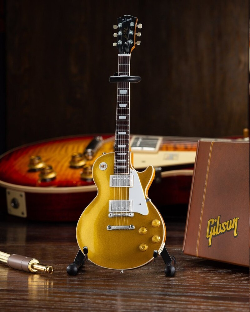- Gibson 1957 Les Paul Gold Top Mini Guitar (Clcb)
