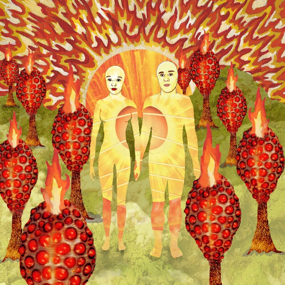 Of Montreal - Sunlandic Twins (Red/Orange Swirl Vinyl) [Colored Vinyl]