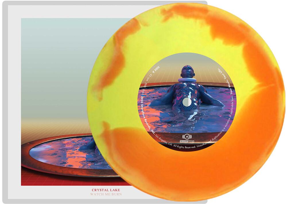 Crystal Lake - Watch Me Burn 7 (Orange/Yellow) [Colored Vinyl] (Org) (Ylw)