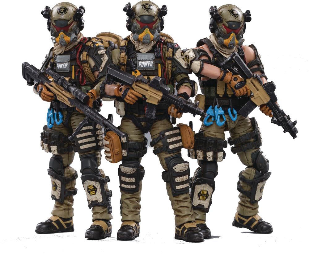 - Joy Toy Skeleton Forces Paratrooper Squad 1/18 Fig