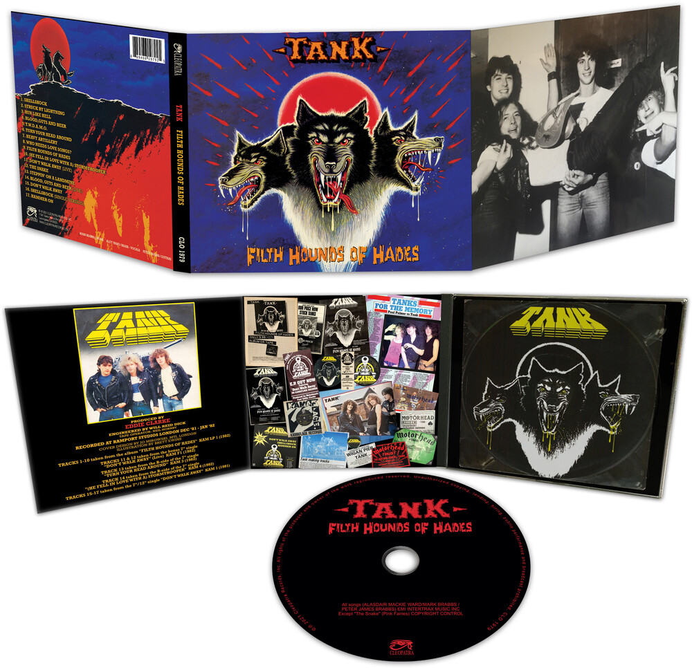 Tank - Filth Hounds Of Hades (Bonus Tracks) [Digipak]