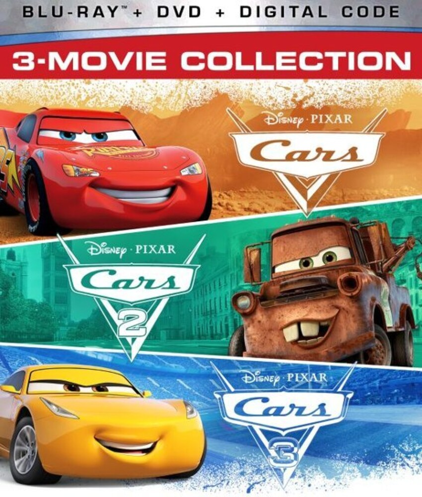 - Cars: 3-Movie Collection (8pc) (W/Dvd) / (Ac3 Dol)