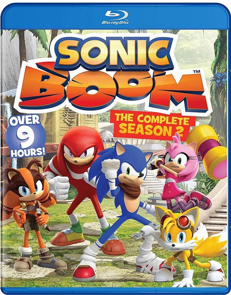 - Sonic Boom: The Complete Season 2 Bd (3pc) / (3pk)