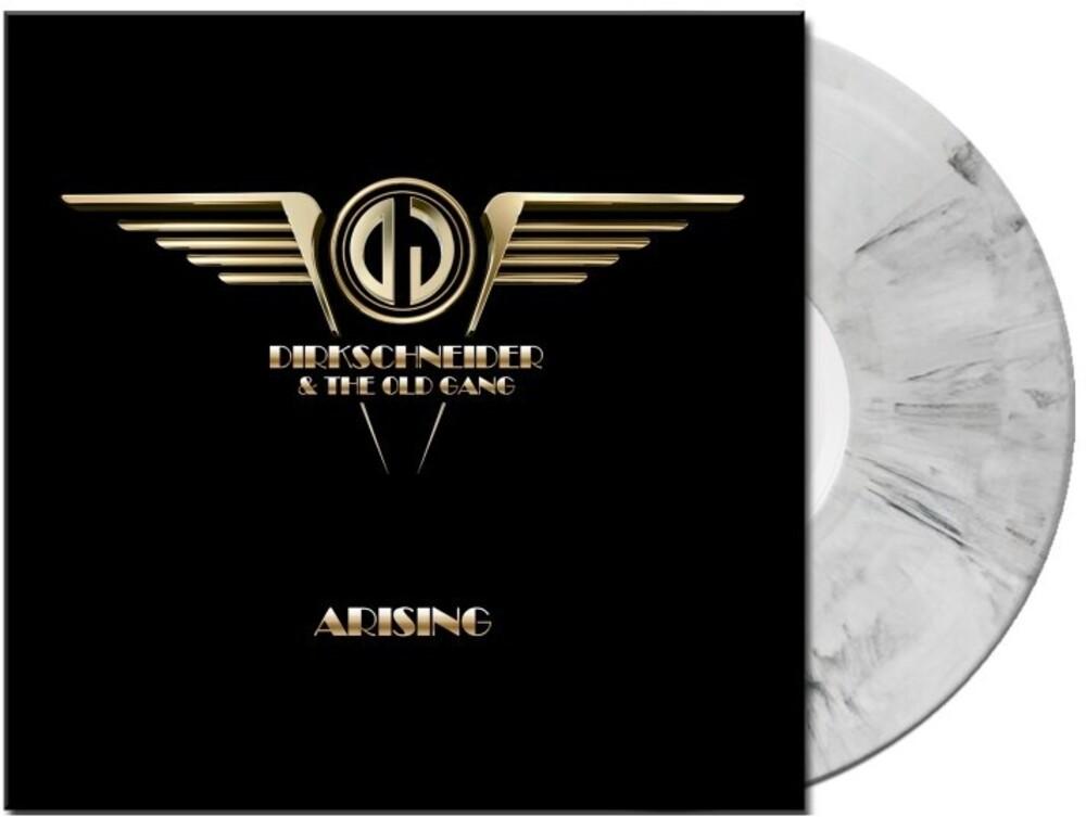 Dirkschneider & The Old Gang - Arising (White/Black Marbled Vinyl) (Blk) [Colored Vinyl]