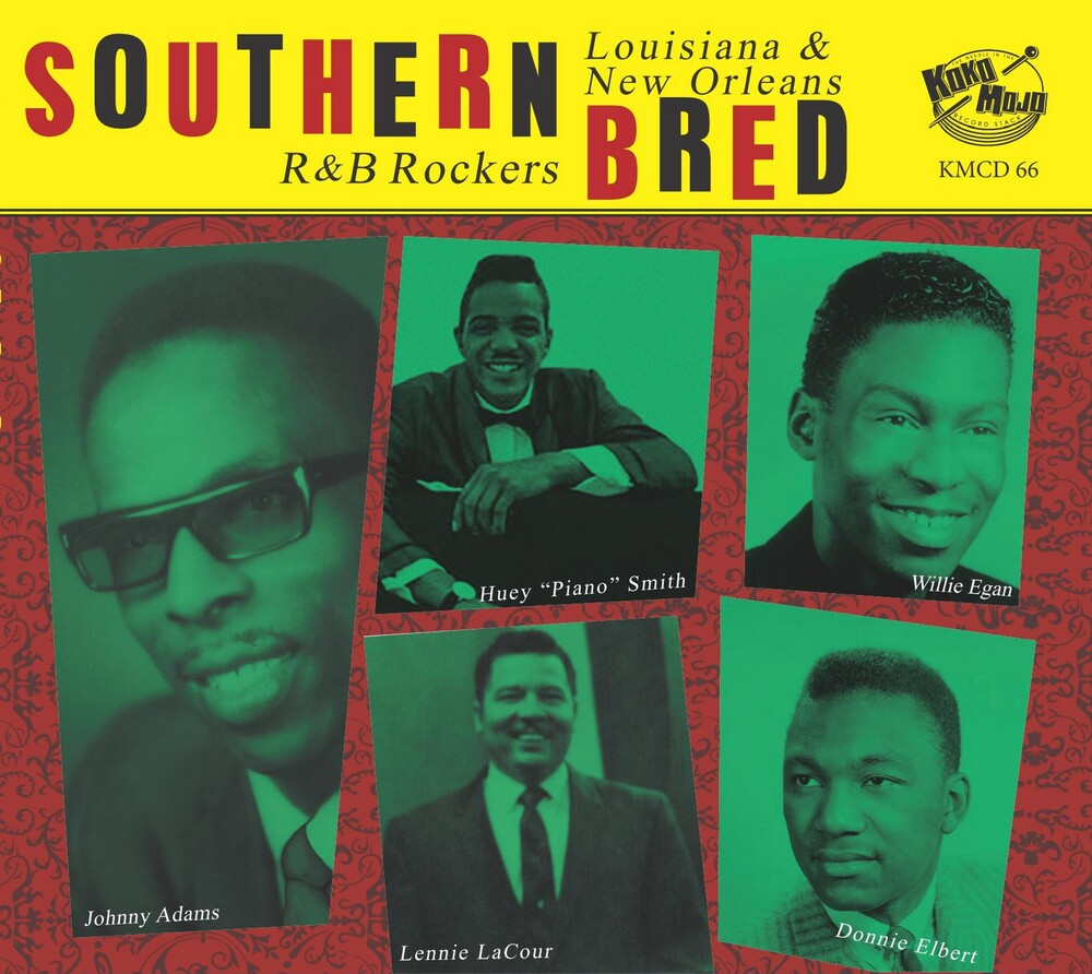 Southern Bred 16 Louisiana New Orleans R&B / Var - Southern Bred 16 Louisiana New Orleans R&B / Var