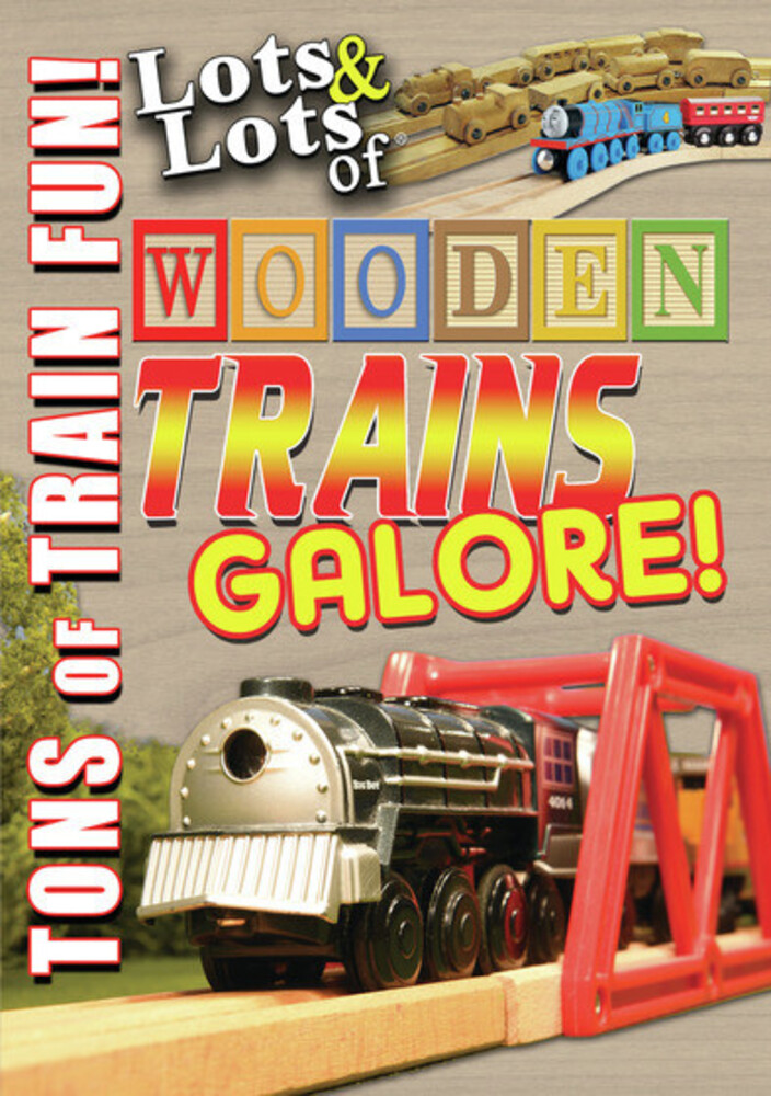 - Lots & Lots Of Wooden Trains Galore / (Mod)