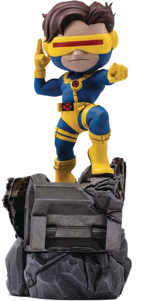 Iron Studios - Minico X-Men Cyclops Vinyl Statue (Clcb) (Vfig)
