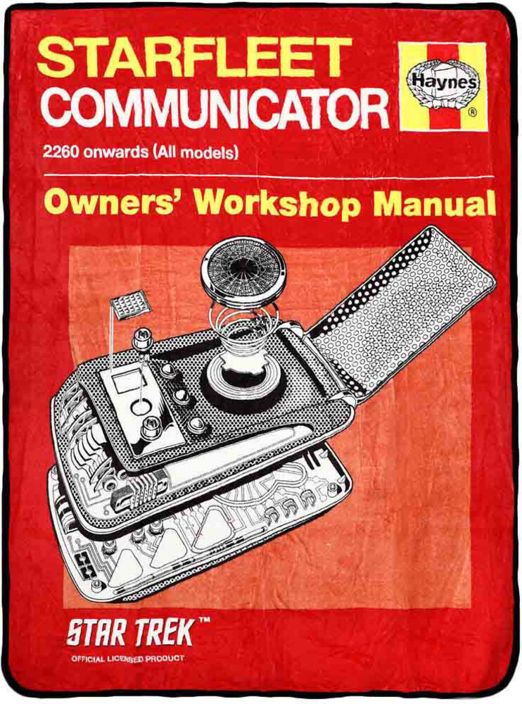 Star Trek Starfleet Communicator Manual Throw - Star Trek Starfleet Communicator Manual Throw