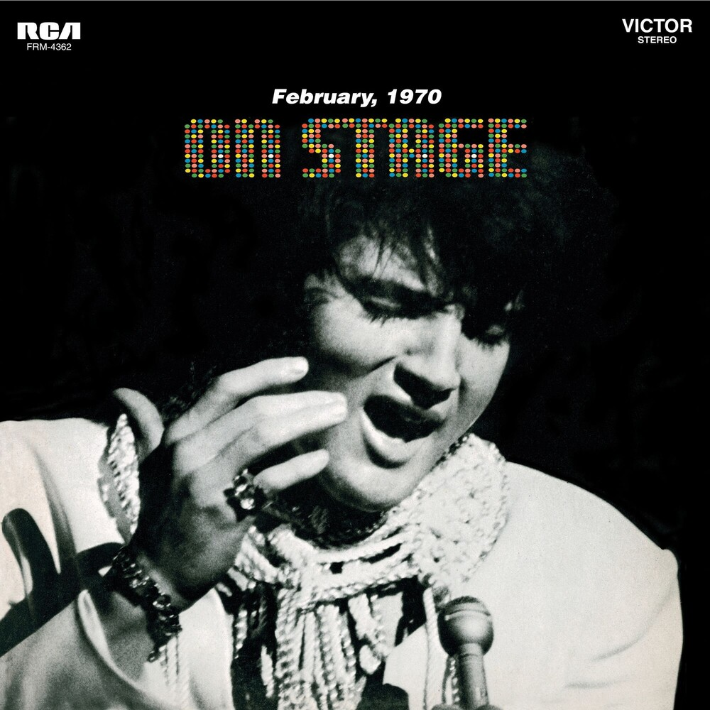 Elvis Presley - On Stage - February 1970 [Audiophile Black & Blue Swirl LP w/Poster]