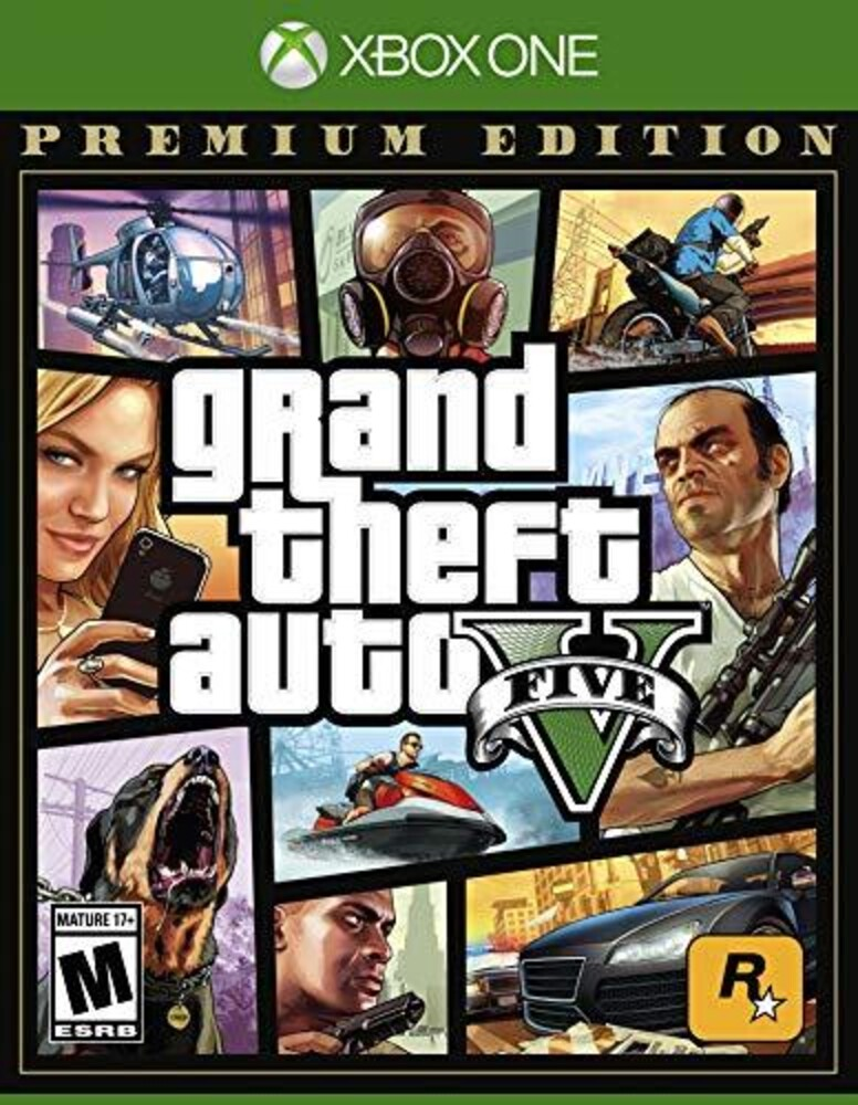 - Grand Theft Auto V Premium Online Edition for Xbox One