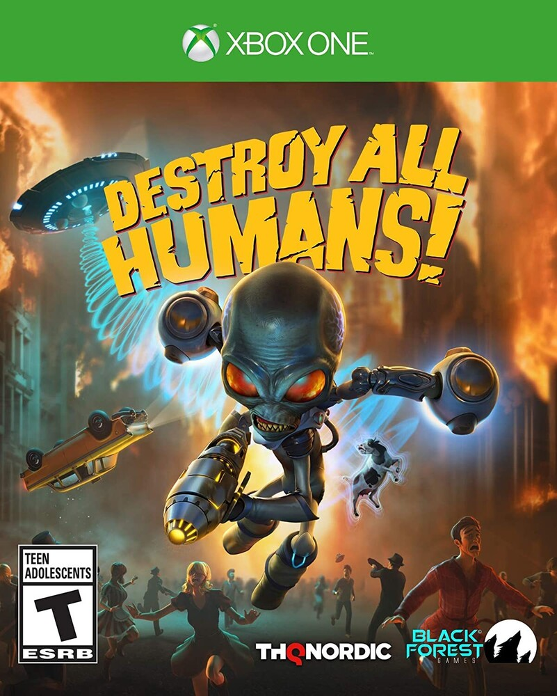 - Destroy All Humans! for Xbox One