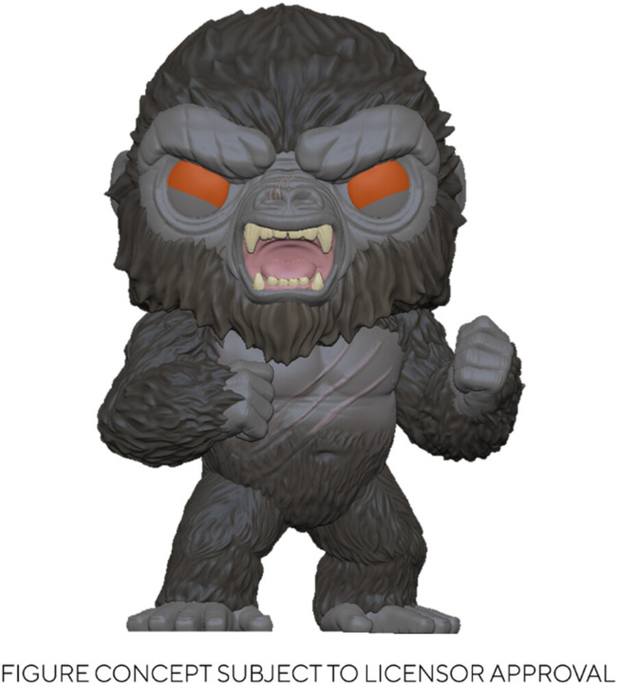 - FUNKO POP! MOVIES: Godzilla Vs Kong- Battle-Ready Kong