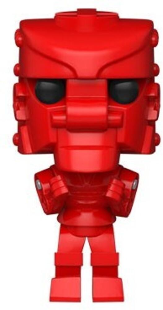 - FUNKO POP! VINYL: Mattel- RockEm SockEm Robot (Red)