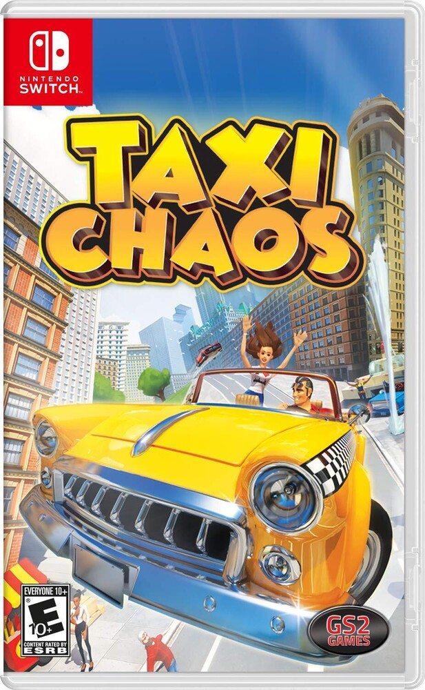 Swi Taxi Chaos - Taxi Chaos for Nintendo Switch