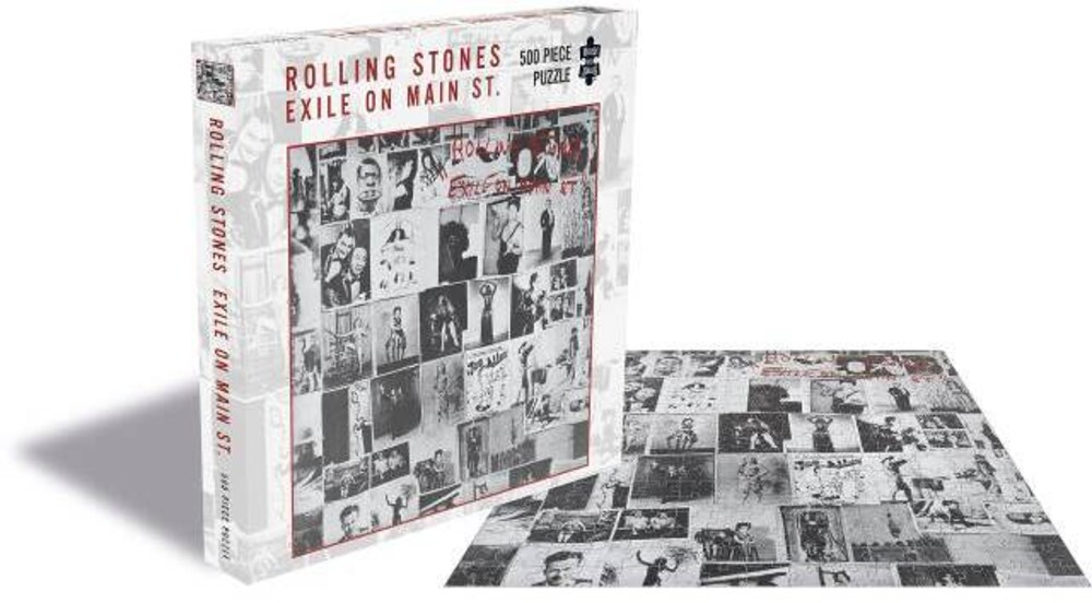 - Rolling Stones Exile On Main St (500 Piece Jigsaw Puzzle)