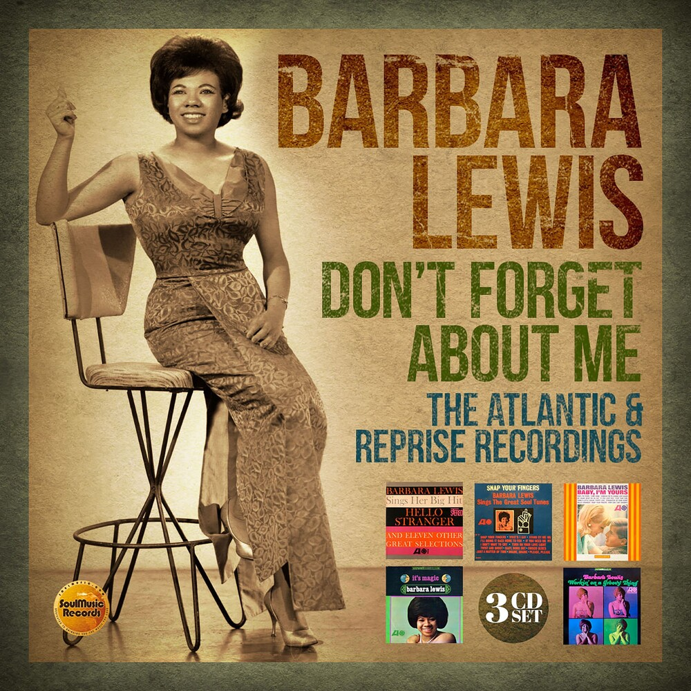 Barbara Lewis - Don't Forget About Me: Atlantic & Reprise (Uk)
