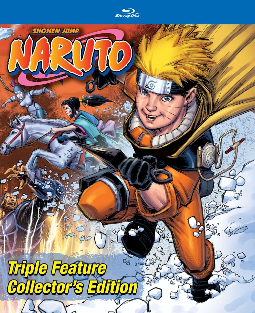 - Naruto Triple Feature Collector's Edition (2pc)