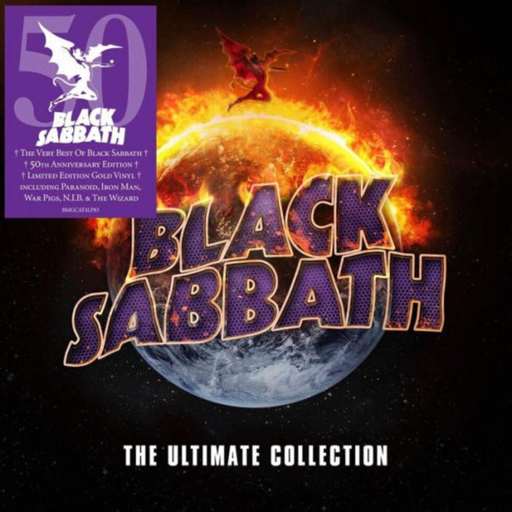 Black Sabbath - Ultimate Collection [Gold Colored Vinyl]