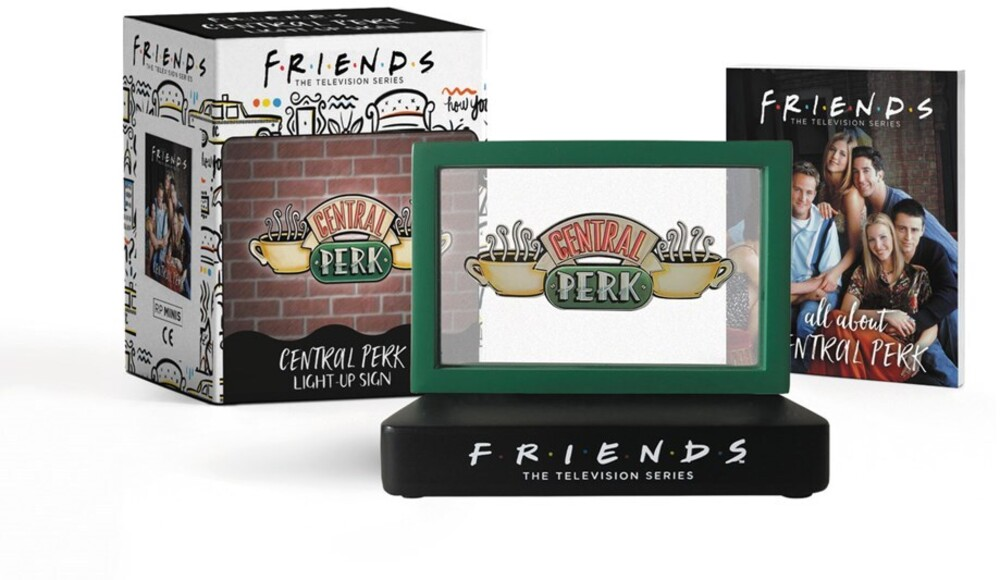 - Friends: Central Perk Light-Up Sign