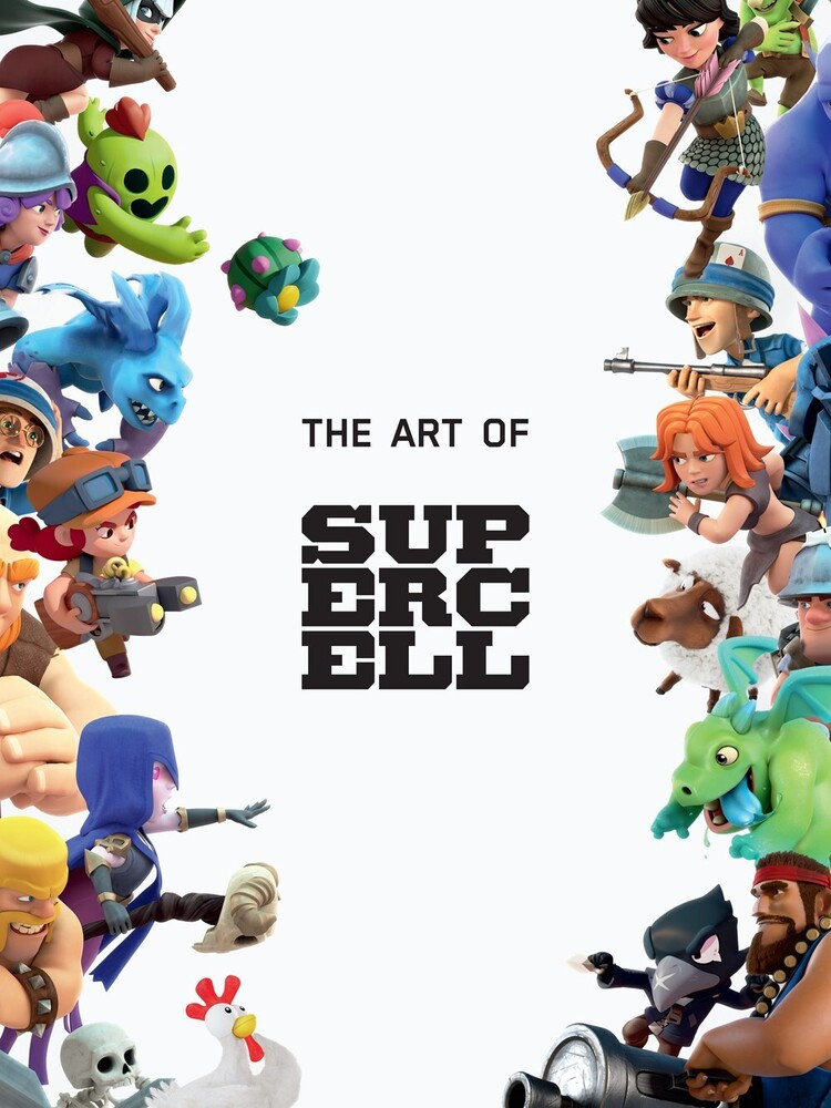 - The Art of Supercell: 10th Anniversary Edition