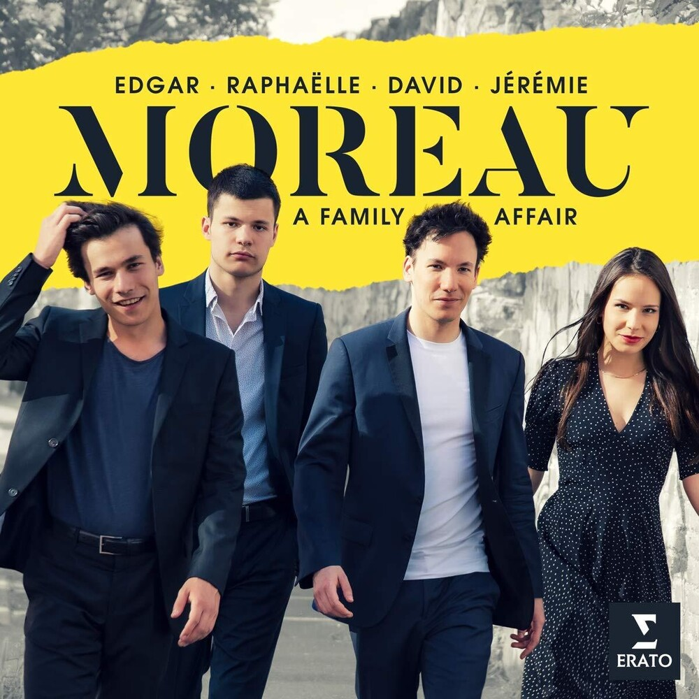 Edgar Moreau / Siblings - Family Affair (Dig)