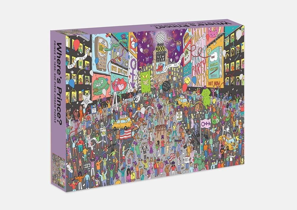 - Where's Prince? Prince in 1999: 500 Piece Jigsaw Puzzle