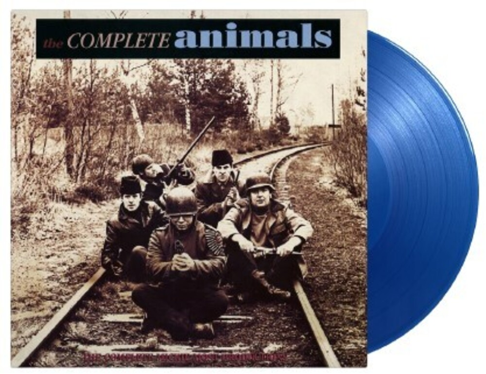 Animals - Complete Animals [Limited Gatefold, 180-Gram Transparent Blue Colored Vinyl]