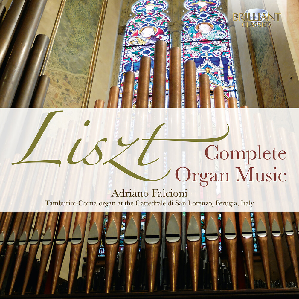 Liszt / Falcioni - Complete Organ Music (Box)