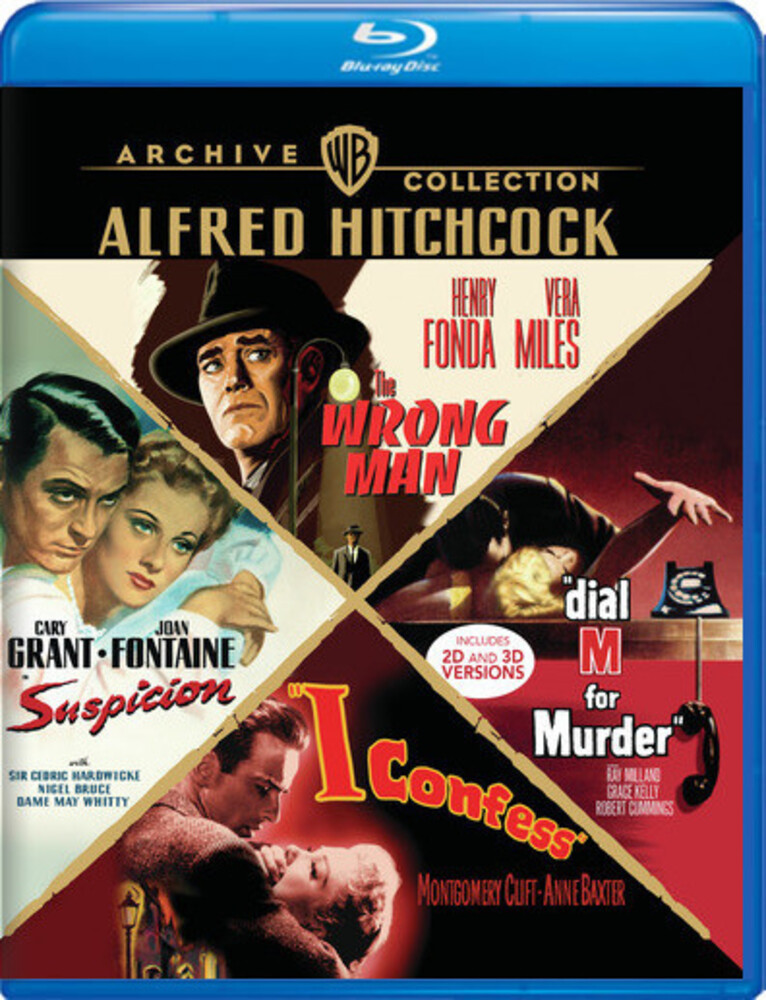 - Alfred Hitchcock 4-Film Collection
