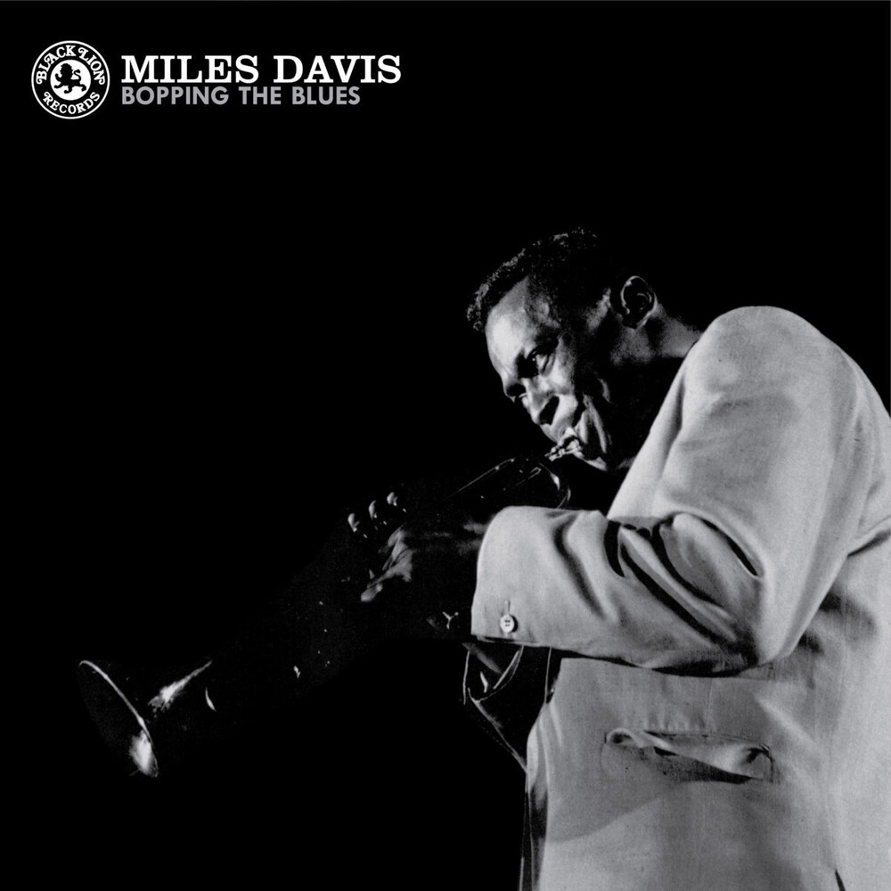 Miles Davis - Bopping The Blues [Indie Exclusive Limited Edition Transparent Blue LP]