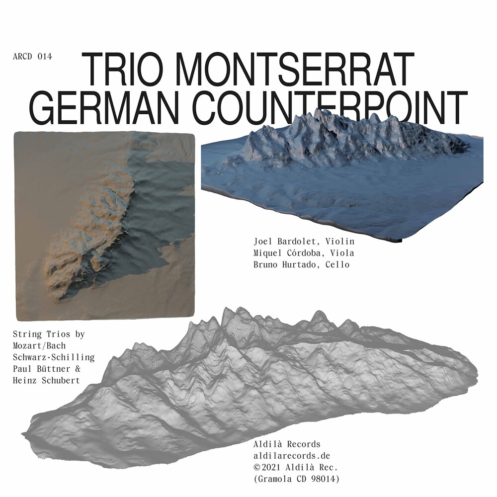 Buttner / Trio Montserrat - German Counterpoint