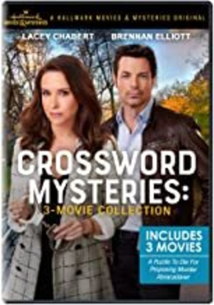 Crossword Mysteries: 3-Movie Collection - Crossword Mysteries: 3-Movie Collection