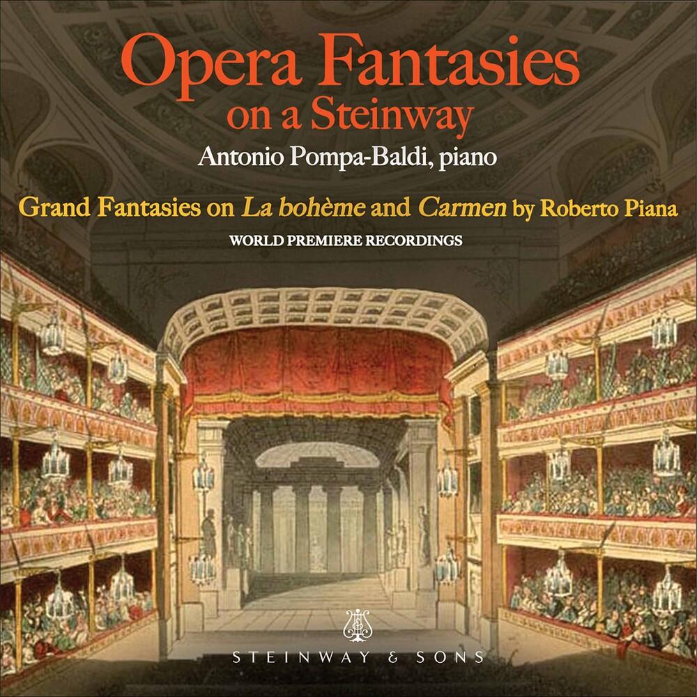 Piana / Pompa-Baldi - Opera Fantasies On A Steinway