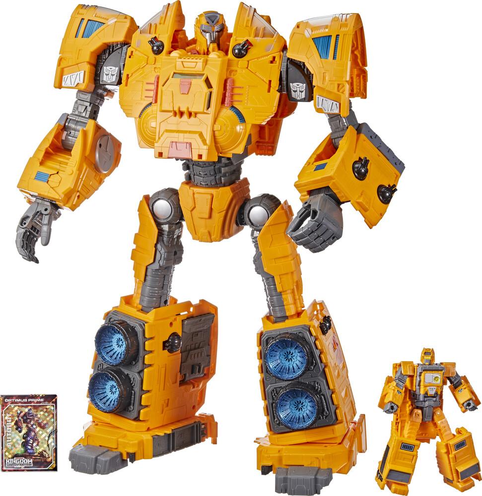 Tra Gen Wfc K Titan Class - Hasbro Collectibles - Transformers Generations War For Cybertron KTitan Class