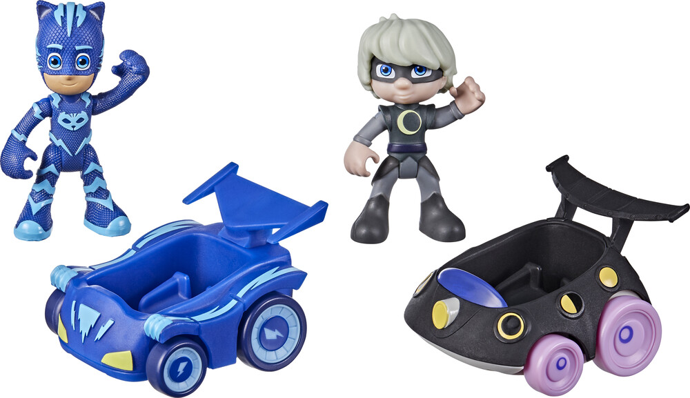 Pjm Catboy vs Luna Girl - Hasbro Collectibles - Pj Masks Catboy Vs Luna Girl