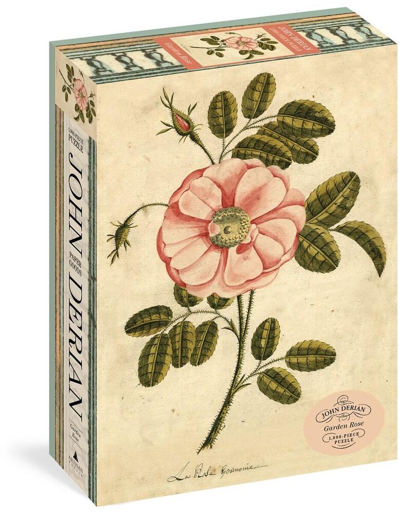 Derian, John - John Derian Paper Goods: Garden Rose 1,000-Piece Puzzle