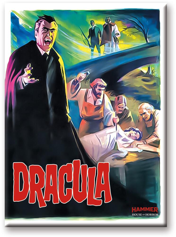 Hammer Dracula Prince 2.5 X 3.5 Flat Magnet - Hammer Dracula Prince 2.5 x 3.5 Flat Magnet