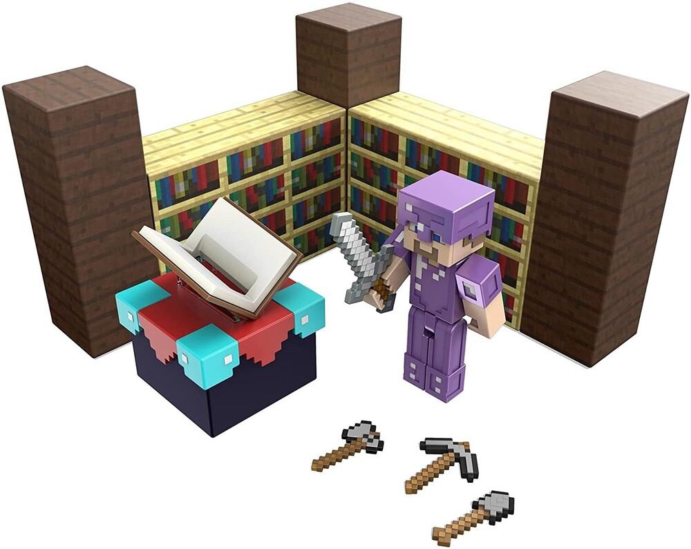 Minecraft - Mattel Collectible - Minecraft 3.25 Enchanting Table