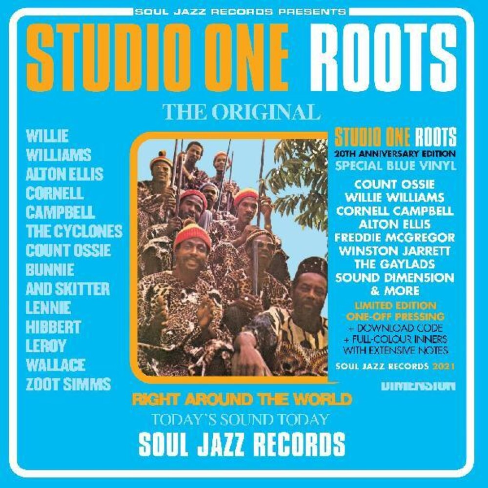 Soul Jazz Records - Studio One Roots (Blue) [Colored Vinyl] [Limited Edition] [Download Included]