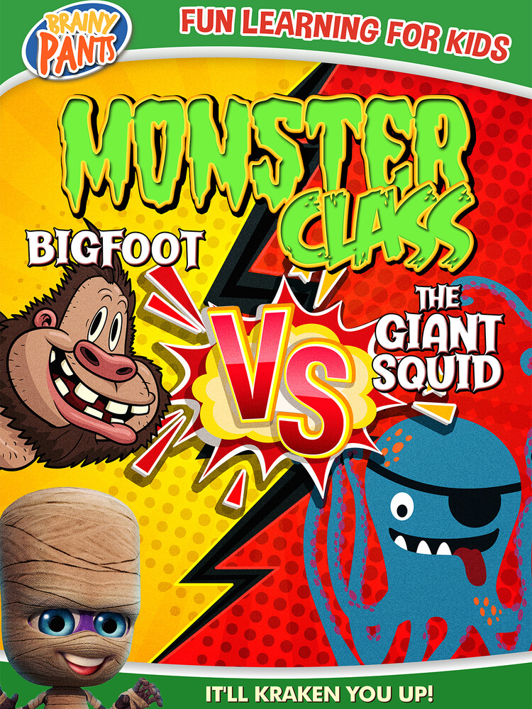 - Monster Class: Bigfoot Vs The Giant Squid