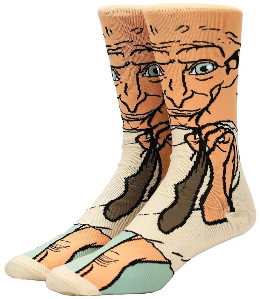 - Harry Potter Dobby Crew Socks 8-12 (Mult) (Sock)