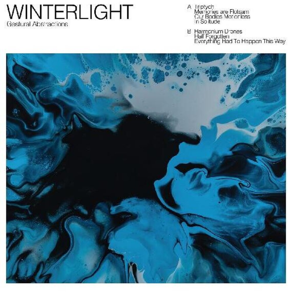 Winterlight - Gestural Abstractions (Blk) (Blue) [Colored Vinyl] [Download Included]