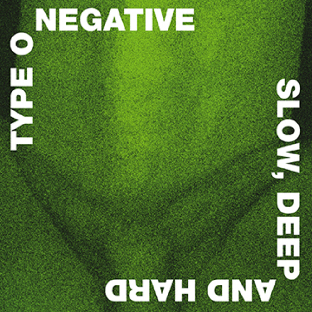 Type O Negative - Slow Deep And Hard 30th Anniversary Edition (Blk)