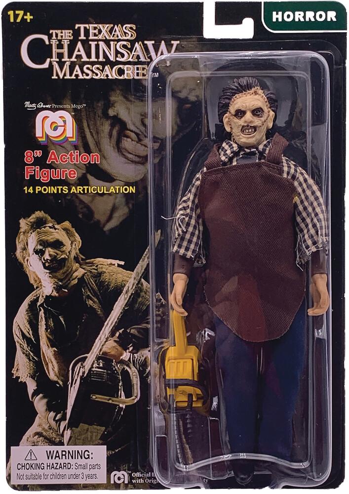 - Mego Horror Leatherface Texas Chainsaw Massacre 8i